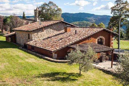 Casa rural 2 con piscina compartida - Santa Maria de Besora - Haus