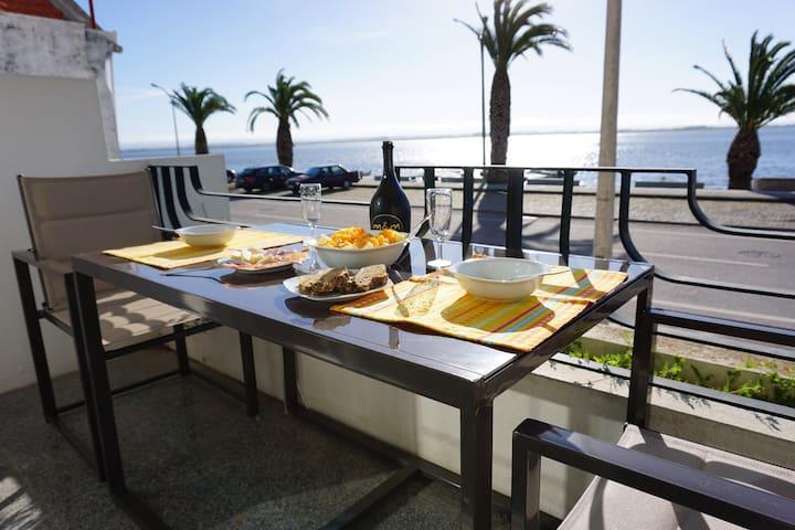 Apartamento com vista para a ria - Torreira - Flat