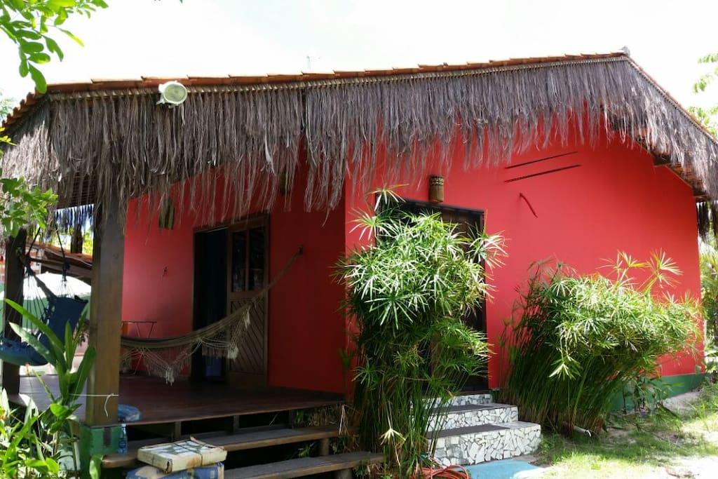 Joli maison de plage barra grande maisons louer - Maison de vacances trancoso bahia bresil ...