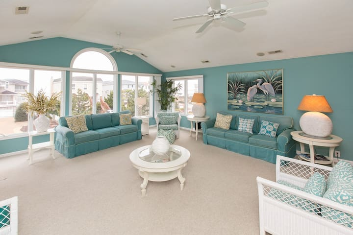 Vacation  Beach Home, Upscale Croatan Resort