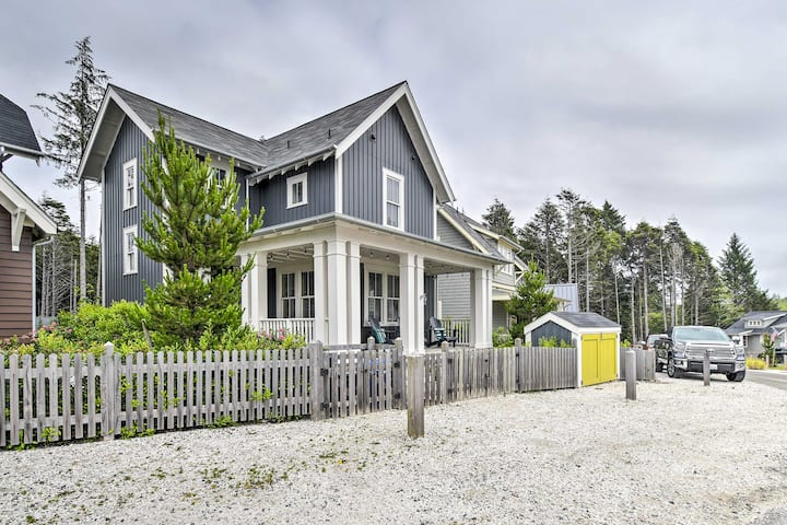 'Once Upon A Tide'  Seabrook, WA beach home