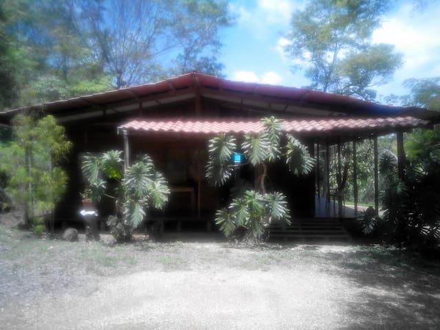 Habitacion en cabaña tropical - Curime - Hus