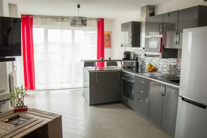 Appartement 45 m² - 5min Parc Expos - Le Bourget - Appartement