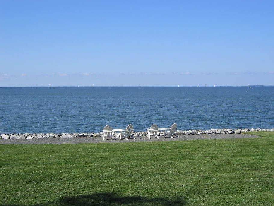 Water view - 300' Shoreline