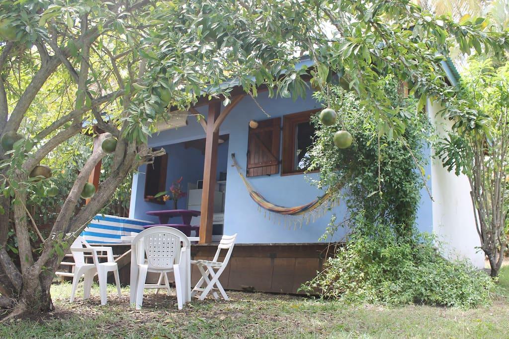 Hamac on terrace