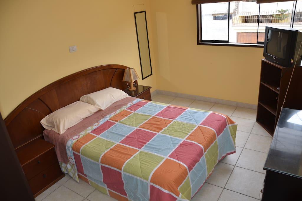 Dormitorio, departamento 01