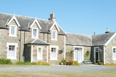 Castlewigg Lodge twin room - Newton Stewart