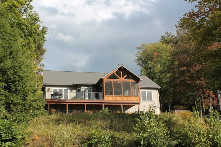 Adirondack Lakefront on the Great Sacandaga Lake