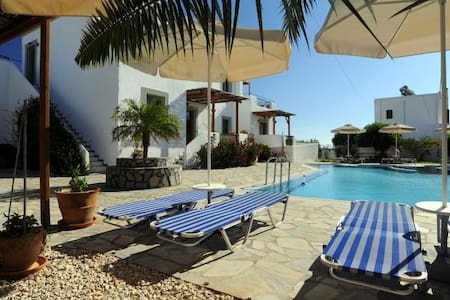 Sea view studio with swimming pool AQUA - Rodos - Bed & Breakfast