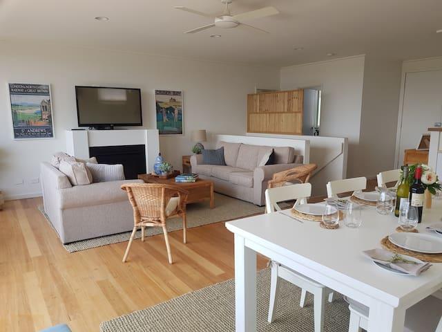Cape Schanck Golf Getaway: fairway and sea views