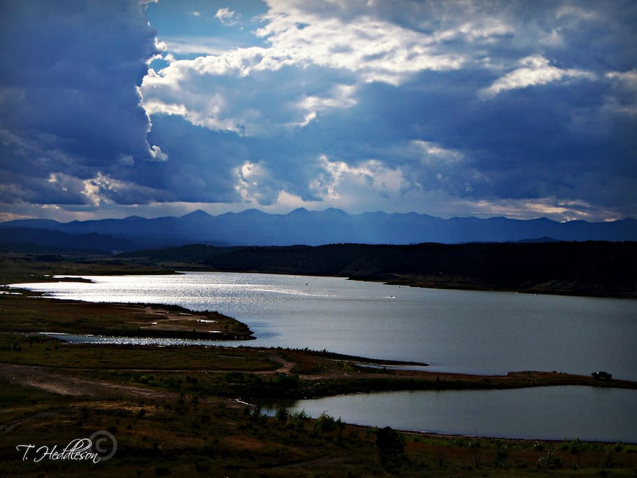 Trinidad Lake located directly across from The Canyon Casita ~2014
