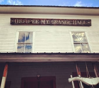 Former Grange Hall in NH Lakes Region - Ossipee