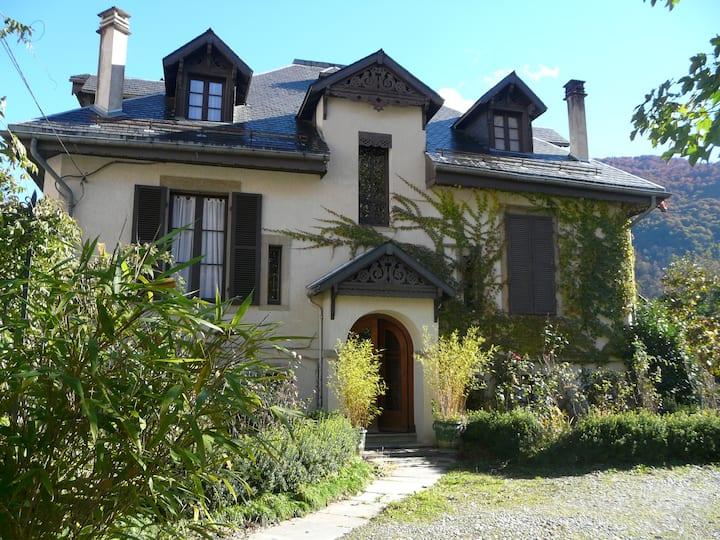 Appartement des Jardins,T2 de 43M2,dans Luchon.