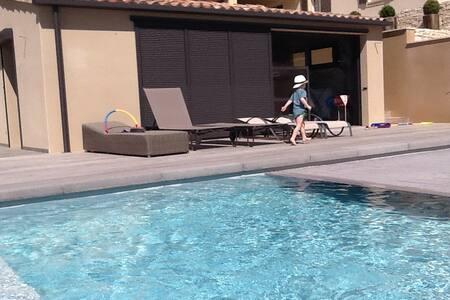 En Provence  Gîte avec piscine - Crillon-le-Brave - Huis