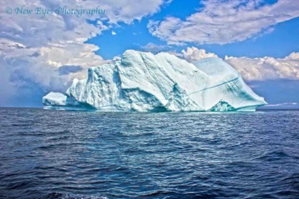 This iceberg was at Round Harbour on July 1 2012. Massive!