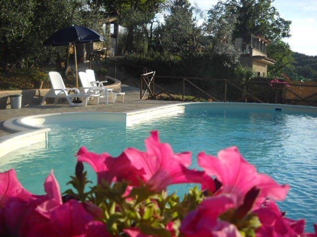 PODERE VAL DI GALLO CHIANTI SIENA  - Gavignano - Lägenhet