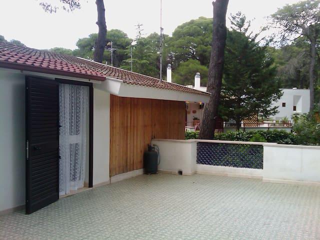 casa con ampio terrazzo in pineta - Castellaneta Marina - Apartment