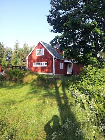 Svensk Ødegård i Skåne (NordØst) nær Lønsboda - Lönsboda - Cottage