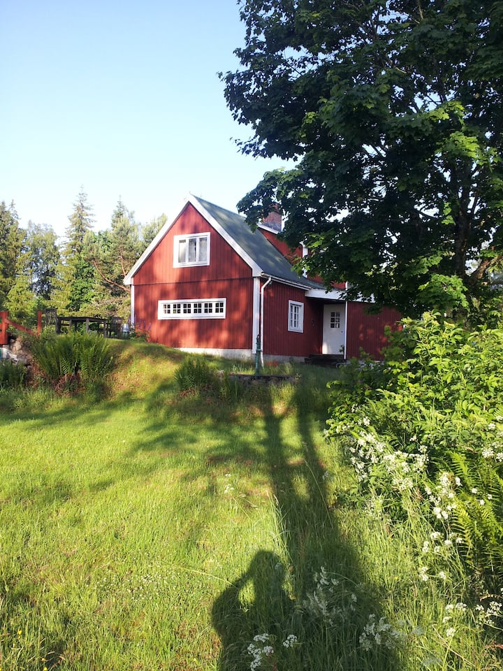 Svensk Ødegård i Skåne (NordØst) nær Lønsboda