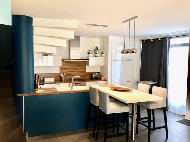 Maison Moderne au coeur du vieil Angoulême