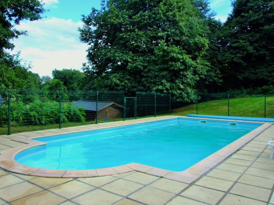 Come on in, the water's lovely! Heated pool - 11.5 X 5 meters
