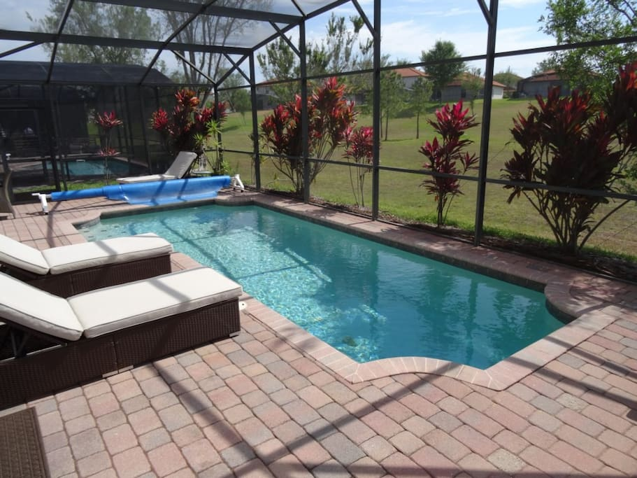 Private Pool Area - No Rear Neighbors
