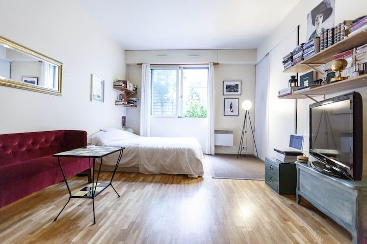Charming studio in center Paris - Paris - Apartemen