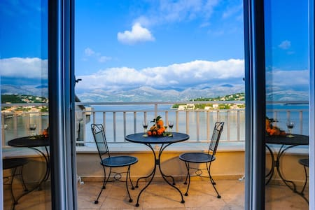 Double room with sea view and balcony - Lopud - Villa