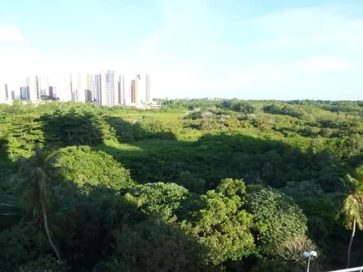 Quarto na Vizinhança do Centro Eventos e Iguatemi