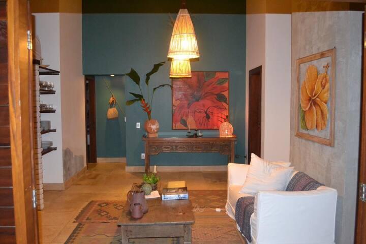 Casa na Villa (Pequena) - FDS ou Temp. Águas Belas
