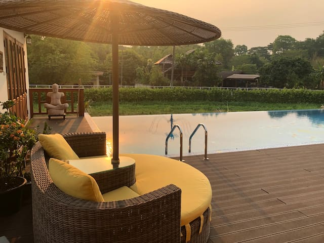 A Very Special 2 BR Pool Villa with Breakfast