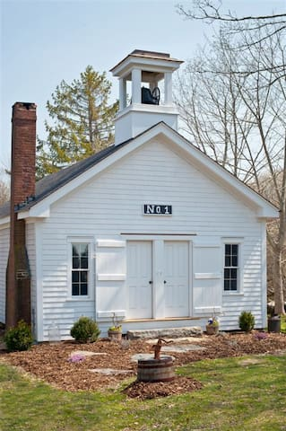 Tiverton 4 Corners Schoolhouse No.1 - Tiverton