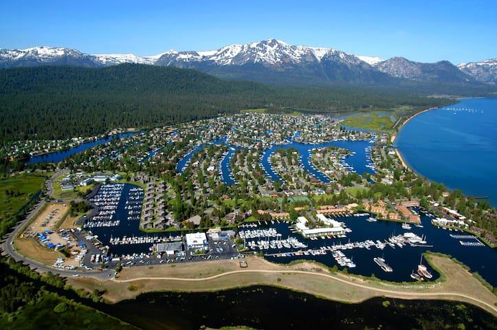 The Tahoe Keys - kayak access to lake