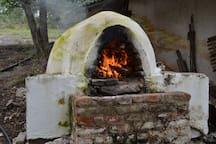 Haciendo pan casero
