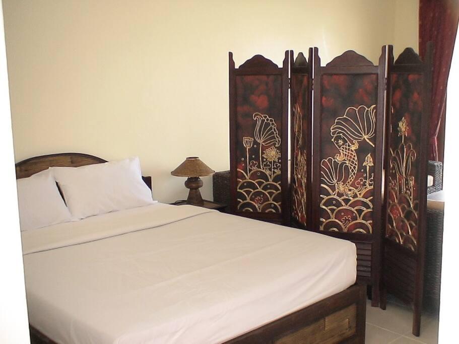 Chambre, lit de 160.