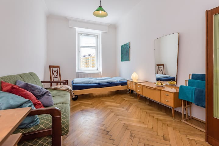 Big, spacious,  bright room - City Centre