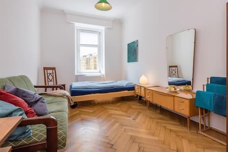 Großes Zimmer im Altbau - City Center