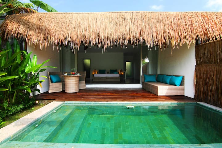 Tropical Suite Villa private pool 4