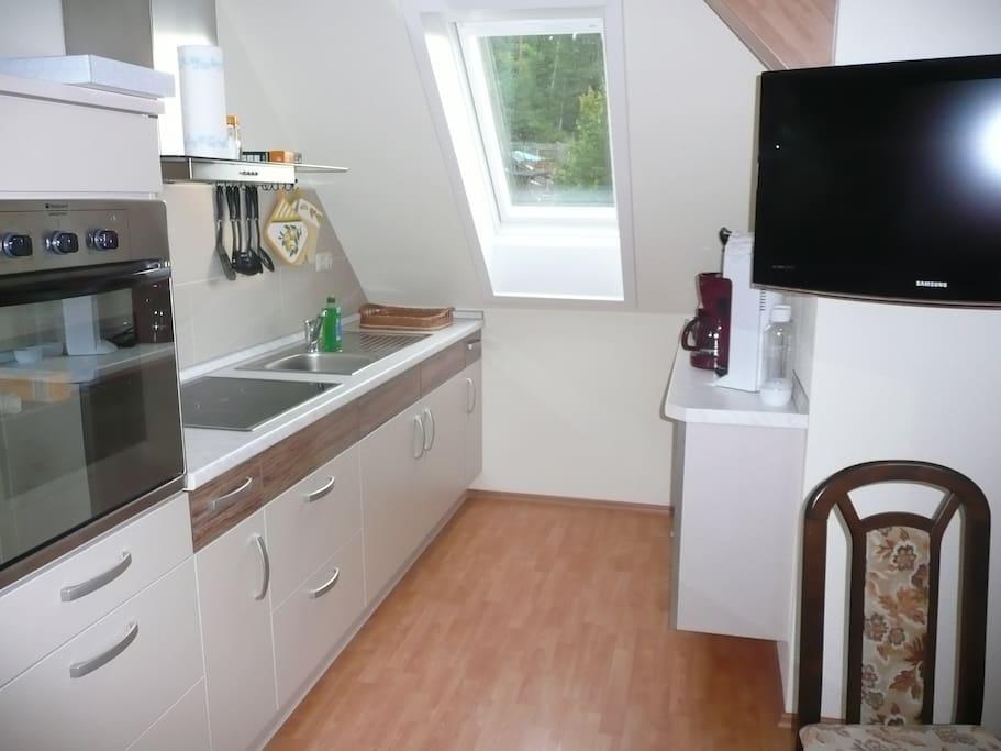 modern ausgestattete ferienwohnung wohnungen zur miete in hohenwarte th ringen deutschland. Black Bedroom Furniture Sets. Home Design Ideas