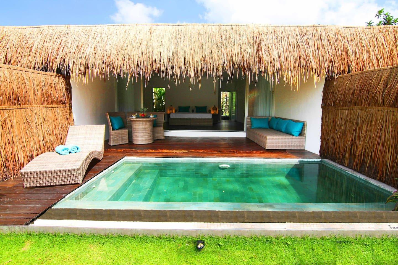 suite villa private pool