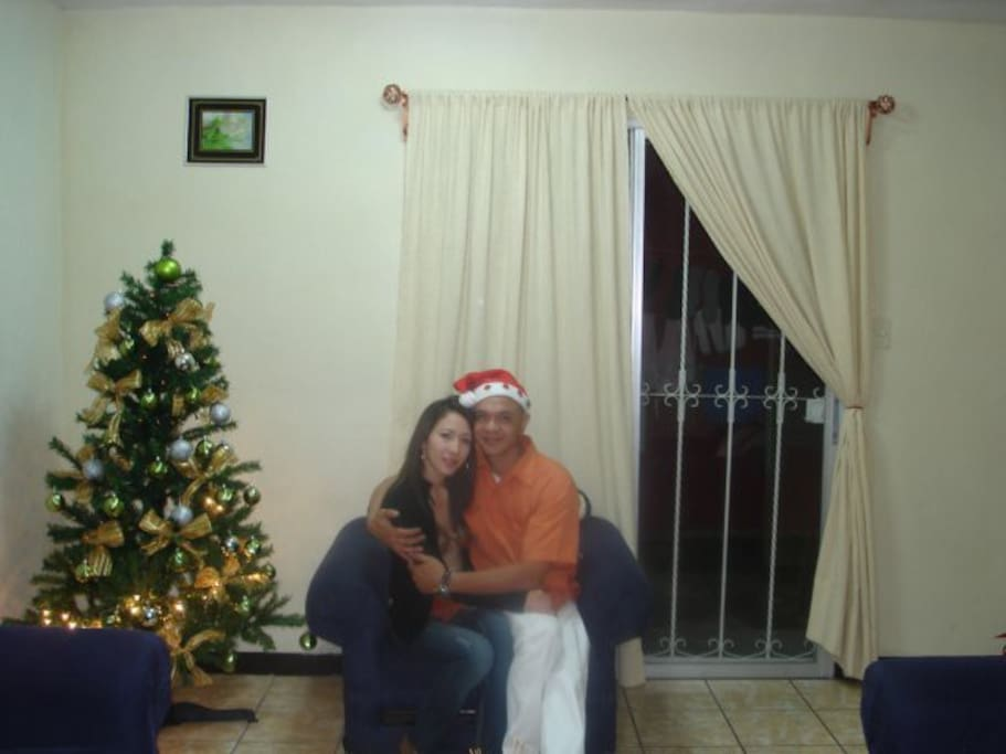 me and my wife...=0)