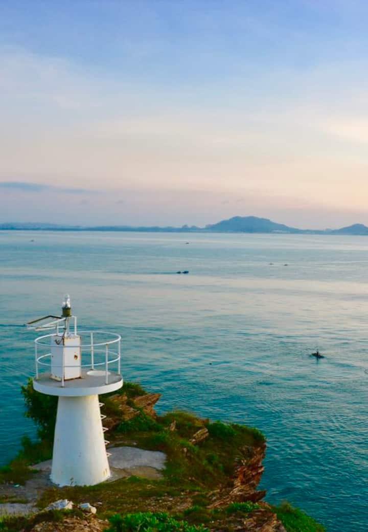 东山岛澳角岛上名宿1.8米双人床