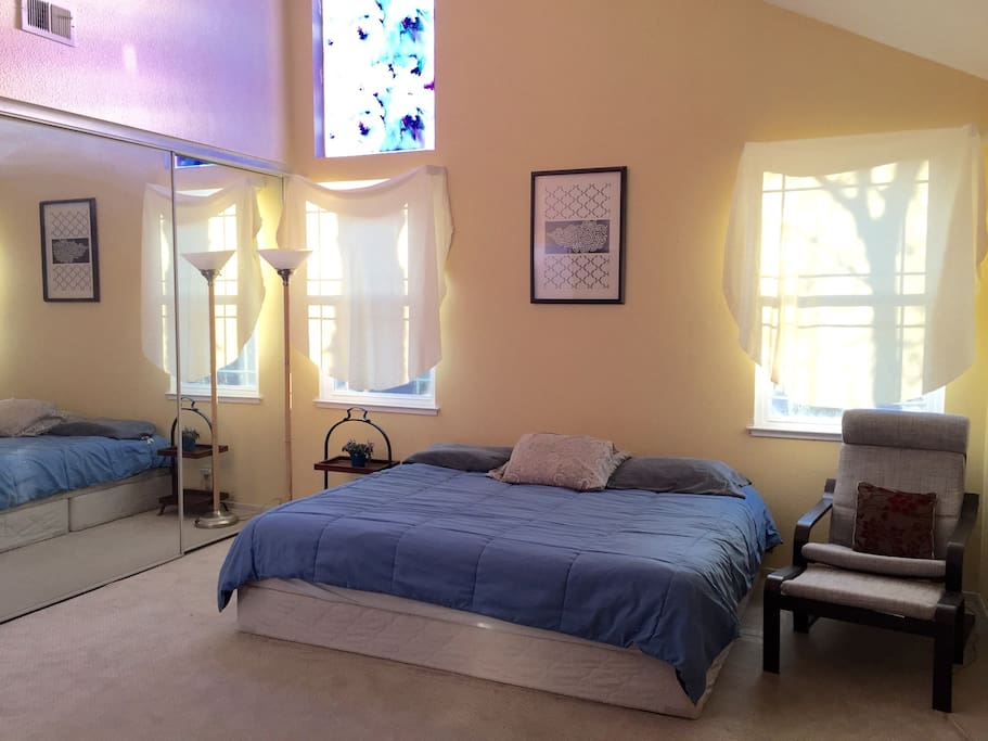 Sunny Master Bedroom Superbowl 50 Houses For Rent In San Jose California United States
