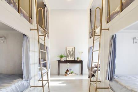 Bunk bed in Mixed Dormitory - Bangkok - Slaapzaal
