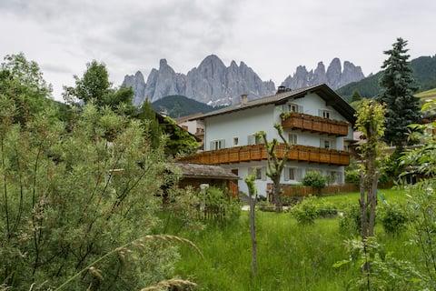 Dolomiti Funes-leilighet