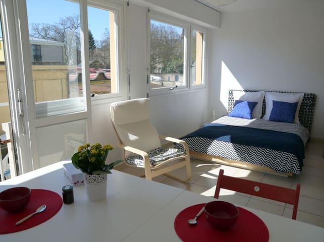 EN PASSANT PAR LA LORRAINE, stationnement gratuit - Metz - Lägenhet