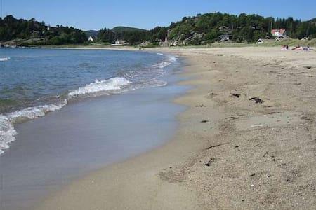 Ferieleilighet ved strand Sørlandet - Stuga
