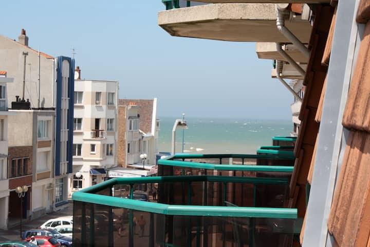 appartement à deux pas de la plage