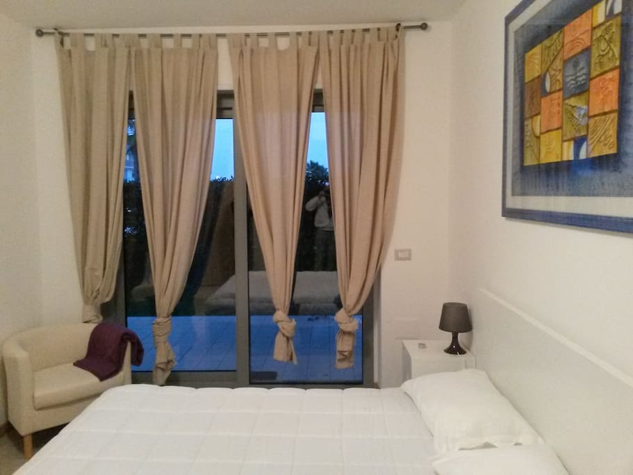 camera da letto matrimoniale ambiente climatizzato