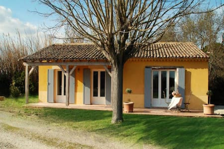 """""""Les Oliviers"""" - (6 pers: 4 adults + 2 kids) WIFI, air-con, bikes, pool - Caderousse - 獨棟"""